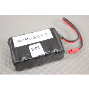 370MAh NiMH FLAT 5 BEC Connector Battery