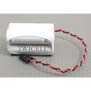TWICELL 1900mAh 4.8V Square #10 Battery
