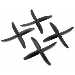 "DAL 5"" 5040 4-Blade Quad Propeller, Black"