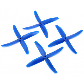 "DAL 5"" 5040 4-Blade Quad Propeller, Blue"