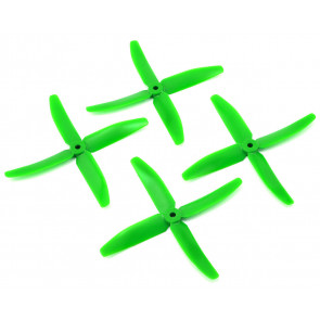 "DAL 5"" 5040 4-Blade Quad Propeller, Green"