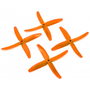 "DAL 5"" 5040 4-Blade Quad Propeller, Orange"
