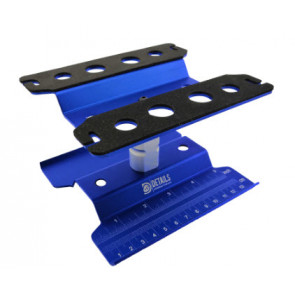 Hobby Details RC Car Repair Station Assembly Platform Display Stand - Blue