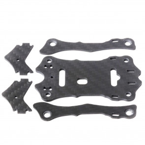 EMAX Hawk 5 Spare Parts A (Top Carbon Plate x1, Support Rail x2, Camera Plate x2)