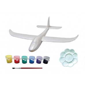 Firefox Toys Paint-N-Fly Glider Foam Plane and Paint Kit