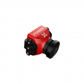 Foxeer Predator V3 Racing All Weather Camera 16:9/4:3 PAL/NTSC switchable Super WDR OSD 4ms Latency Remote Control - Red