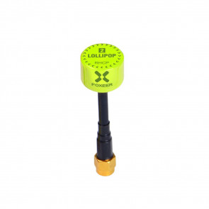 Foxeer Lollipop 2 2.5DBi 5.8G Super Mini Antenna For FPV Racing(2pcs) - RHCP -SMA - Green