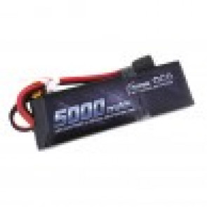 Gens Ace 5000mAh 7.4V 50C 2S1P Lipo Battery Pack with XT60 plug