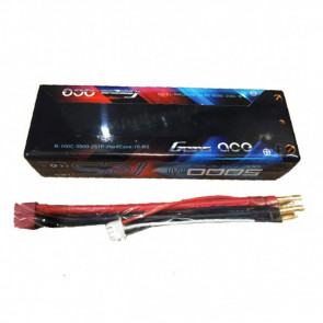Gens ace 5000mAh 2S1P HardCase 100C 7.4V Lipo Battery Pack for Rc Cars #10 Racing Series