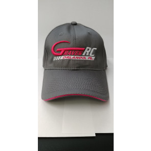 Graves RC Hat 2017 - Charcoal and Pink