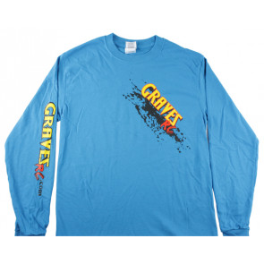 Graves RC Hobbies Long Sleeve Car Shirt, Blue