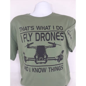 GRAVES RC HOBBIES PILOT DRONE SHIRT GREEN