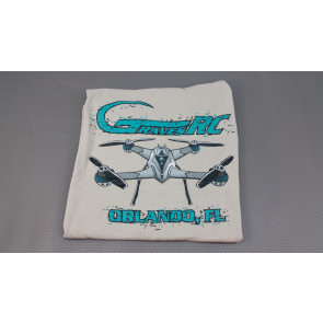 Graves RC Hobbies Quadcopter T-Shirt Large - Sand