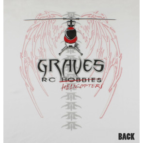 Graves RC Hobbies Long Sleeve Cool Dry Helicopter Shirt