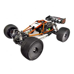 HoBao Racing 1/8 Hyper SS Cage Truggy Nitro RTR Orange