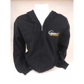 Graves RC Hobbies Grave Zip-Up - Black - Small