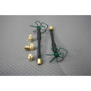 IBCrazy/Video Aerial Systems 5.8gHZ Airblade Antenna Set, LHCP