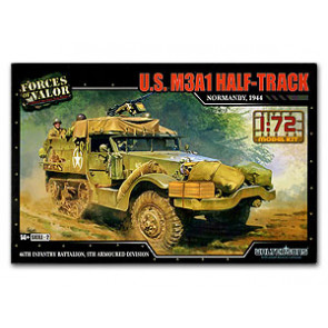 IMEX FORCES OF VALOR 1:72 SCALE US M3A1 HALF TRUCK