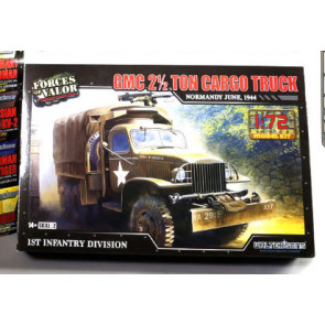 IMEX Forces of Valor 1/72 Scale U.S. GMC 2.5 Ton Cargo Truck