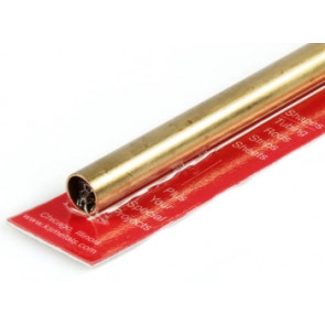 K&S Round Brass Tube 13/32""