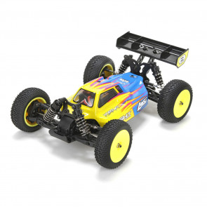 Losi 1/14 Mini 8IGHT 4WD Buggy RTR with AVC Technology, Blue
