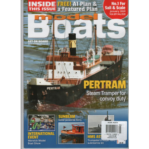 MODEL BOATS Magazine - January
