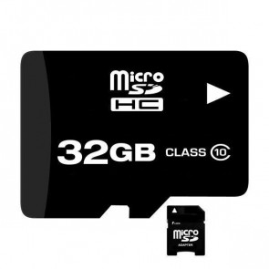 MICROSDHC32 Memory High Speed 32GB Class 10 Micro SDHC Card