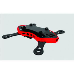Oas Hobby 230 Wasp Quadcopter Frame, Red
