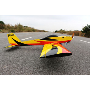 "PILOT RC 88"" Sport Trainer - Red, Yellow, Black"