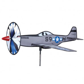 PREMIER KITES AND DESIGNS WINDSPINNER P-51 MUSTANG 18''