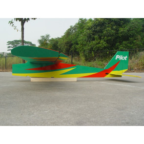 "PILOT RC 88"" Sport Trainer - Green, Yellow, Red"