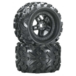 "Pro-Line Big Joe 3.8"" All Terrain Mounted Front/Rear(2)"