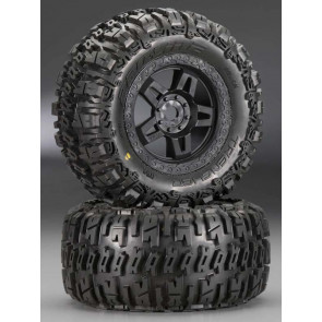 "Pro-Line Trencher 3.8"" All-Terrain Tires Mounted (2)"