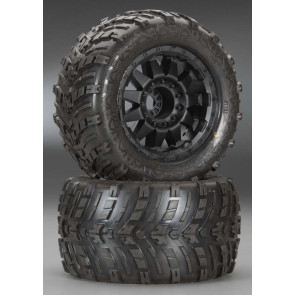"Pro-Line Shockwave 3.8"" All Terrain Tires Mounted (2)"