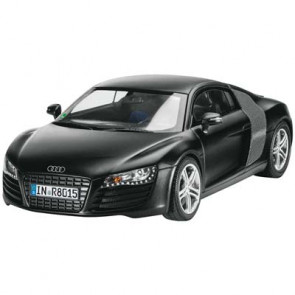 Revell Germany 1/24 Audi R8 Black