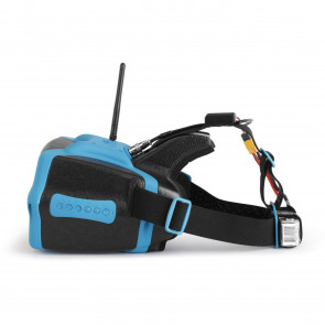 Headplay SE Head Mounted Display with DVR and RHO Lens- Blue