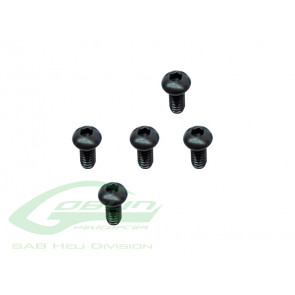 Goblin 380 Button Screw M2.5 x 6