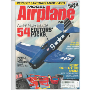 Model Airplane News Magazine, February 2019