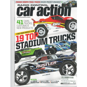 R/C CAR ACTION MAGAZINE -  FEBRUARY 2019