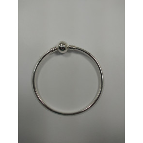 Graves RC Silver Plated Bracelet for Charms 17cm 6.5in