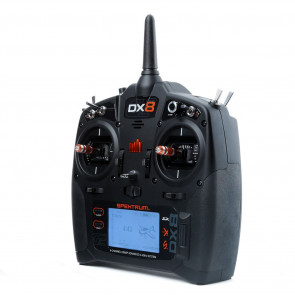 SPEKTRUM DX8 Gen 2 DSMX® 8-Channel Transmitter ONLY, Mode 2