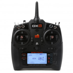 SPEKTRUM DX8 8-Channel DSMX Transmitter Gen 2 with AR8010T, Mode 2