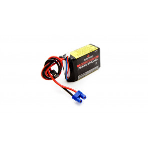 SPEKTRUM 6.6V 3000mAh 2S LiFe Receiver Battery