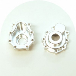 STRC CNC MACHINED ALUM. PORTAL DRIVE OUTER HOUSING (1 PAIR) FRONT OR REAR FOR TRAXXAS TRX-4 (S)