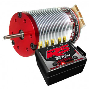 Tekin RS Electronic Speed Control 13.5 Sensored Brushless Motor Combo