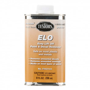 Testors Easy Lift-Off Remover 8 oz