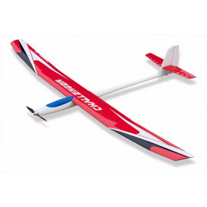 TOPMODEL Challanger Sailplane RED