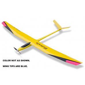 TOPMODEL Butterfly Glider ARF  Yellow - Blue
