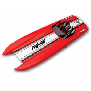 Traxxas DCB M41 Widebody Catamaran TSM Brushless RTR - Red