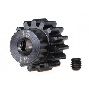 Traxxas Steel Mod 1.0 Pinion Gear w/5mm Bore (15T)